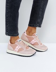 Saucony Jazz O Vintage Trainers In Pink - Pink