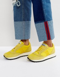 Saucony Jazz O Vintage Trainers In Yellow - Yellow