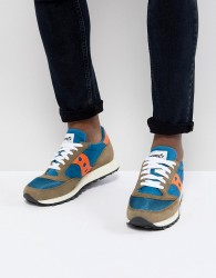 Saucony Jazz Original Trainers In Blue S70368-14 - Blue