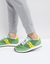 Saucony Jazz Original Trainers In Green S70368-17 - Green