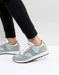 Saucony Jazz Original Trainers In Grey S70368-5 - Grey