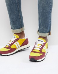 Saucony Jazz Original Trainers In Yellow S70368-16 - Yellow