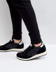 Saucony Jazz Original Vintage Trainers In Black S70368-9 - Black