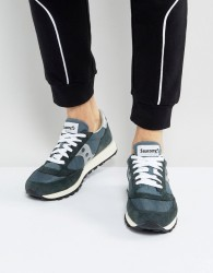 Saucony Jazz Original Vintage Trainers In Navy S70368-4 - Navy
