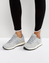 Saucony Knit Trainers In Grey - Grey