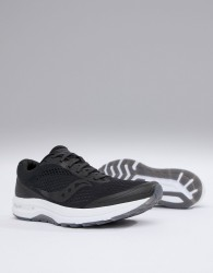 Saucony Running clarion trainers in black - Black