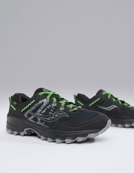 Saucony Running excursion tr12 gtx trail trainers in black - Black