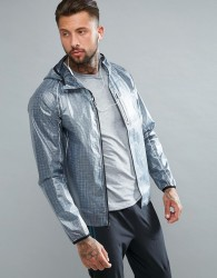Saucony Running Exo Running Jacket In Grey SAM800015-FSP - Grey