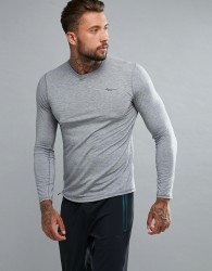 Saucony Running Freedom Long Sleeve Top In Grey SAM800018-DGH - Grey