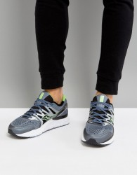 Saucony Running Redeemer ISO Trainers In Grey S20381-3 - Grey