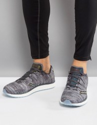 Saucony Running Runlife Chromaflex Freedom ISO Trainers In Grey S20355-20 - Grey