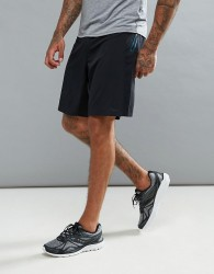Saucony Running Runlife Stretch Woven Shorts In Black - Black