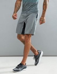 Saucony Running Runlife Stretch Woven Shorts In Black - Grey
