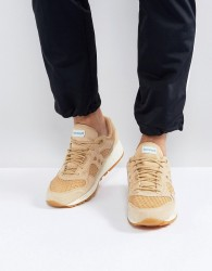Saucony Shadow 5000 HT Weave Pack Trainers In Tan S70371-2 - Tan
