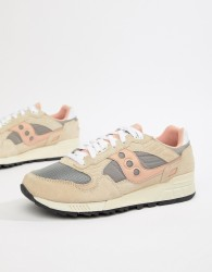 Saucony Shadow 5000 trainers in beige S70404-7 - White