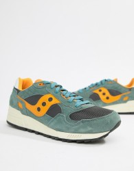 Saucony Shadow 5000 Trainers In Green S70404-9 - Green