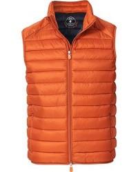 Save The Duck Lightweight Padded Vest Ginger Orange men M Orange