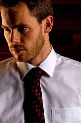 Scandinavian Prestige Skjorte - Hvid klassisk skjorte med et tvist (1 stk)