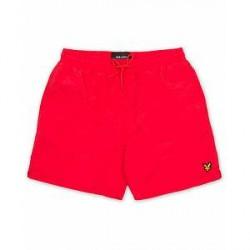 Scott Lyle & Scott Plain Swimshorts Poppy Red