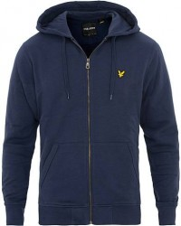 Scott Lyle & Scott Zip Through Hoodie Navy men M Blå