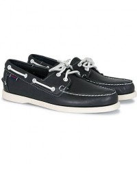 Sebago Docksides Boat Shoe Navy men US7 - EU40 Blå