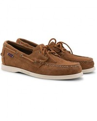 Sebago Docksides Suede Boat Shoe Brown Cognac men US7,5 - EU41 Brun