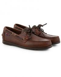 Sebago Endeavor Boat Shoe Brown men US9,5 - EU43,5