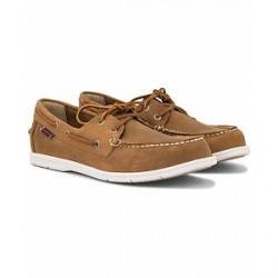 Sebago Litesides Boat Shoe Brown Leather