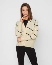 Second Female Knit Striped cardigan