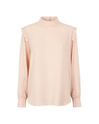 Second Female Kruse Blouse 51163 (Sort, SMALL)