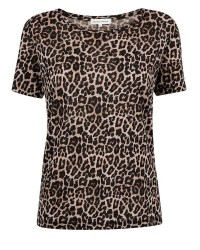 Second Female Rola SS O-neck Tee (LEOPARD, LARGE)