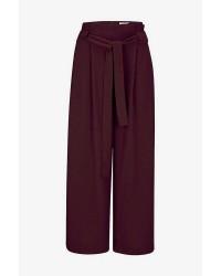 Second Female Yasemin Trousers (Bordeaux, XLARGE)