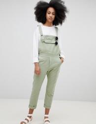 Seeker 5 Pocket Overalls in Organic Hemp Cotton - Green