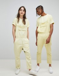 Seeker 5 Pocket Overalls in Organic Hemp Cotton - Yellow