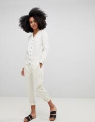 Seeker Boilersuit in Organic Hemp Cotton - Cream