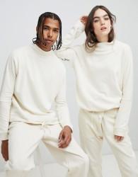 Seeker Dolman Sweatshirt in Organic Cotton - Cream