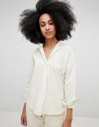 Seeker Pell Shirt in Organic Hemp Cotton - Cream