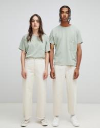 Seeker Pocket T-Shirt in Heavyweight Organic Cotton - Green