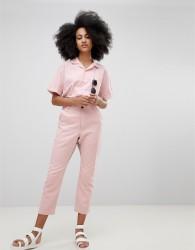 Seeker Print Insert Trouser in Organic Hemp Cotton - Pink