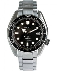 Seiko Prospex Automatic 44mm Safir 200m Diver men One size Sort