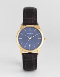 Sekonda 1371 Leather Watch In Brown - Brown
