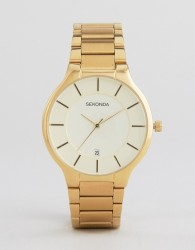 Sekonda 1384 Bracelet Watch In Gold - Gold