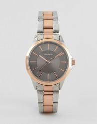 Sekonda 2456 bracelet watch with rose gold case - Brown