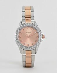 Sekonda 4254 bracelet watch with rose gold dial - Pink
