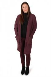 Selected Femme - Cardigan - Darla LS Knit - Catawba Grape