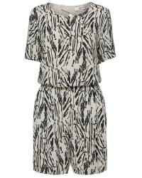 Selected Femme Lauren hollie ss playsuit (OFFWHITE, 34)