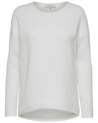 Selected Femme Misana LS Knit Pullover (OFFWHITE, XL)