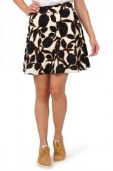 Selected Femme - Nederdel - SF Cathy MW Skirt EX - Snow White