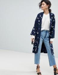 Selected Femme Printed Kimono - Multi