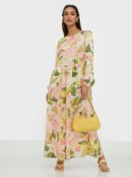 Selected Femme Slfmola Ls Ankle Dress B Maxikjoler